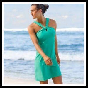 Athleta Kiki Halter Swim Dress